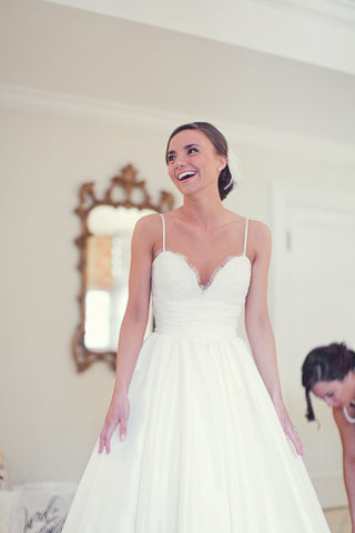 Coco Replica Wedding Dress with Hidden Pockets