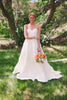 Dahlia Replica Ruffle Skirt Custom Made Wedding Dress