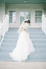 Organza Wedding Dress with Sweetheart Neckline
