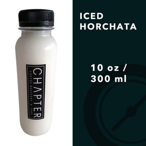 Chapter Iced Horchata