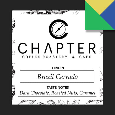 Single origin specialty coffee from Brazil roasted by Chapter Coffee Roastery and Cafe based in Philippines