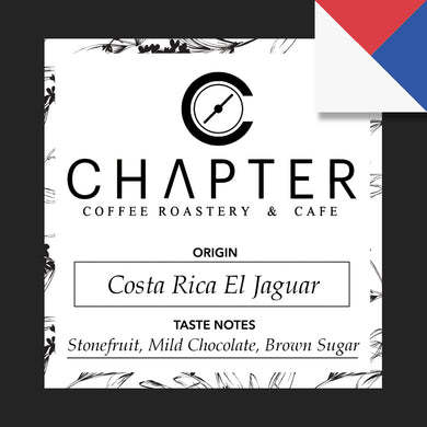 Single origin specialty coffee from Costa Rica roasted by Chapter Coffee Roastery and Cafe based in Philippines