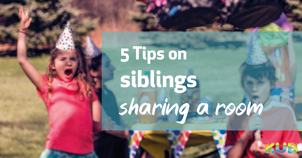 5 Tips on Siblings Sharing a Room