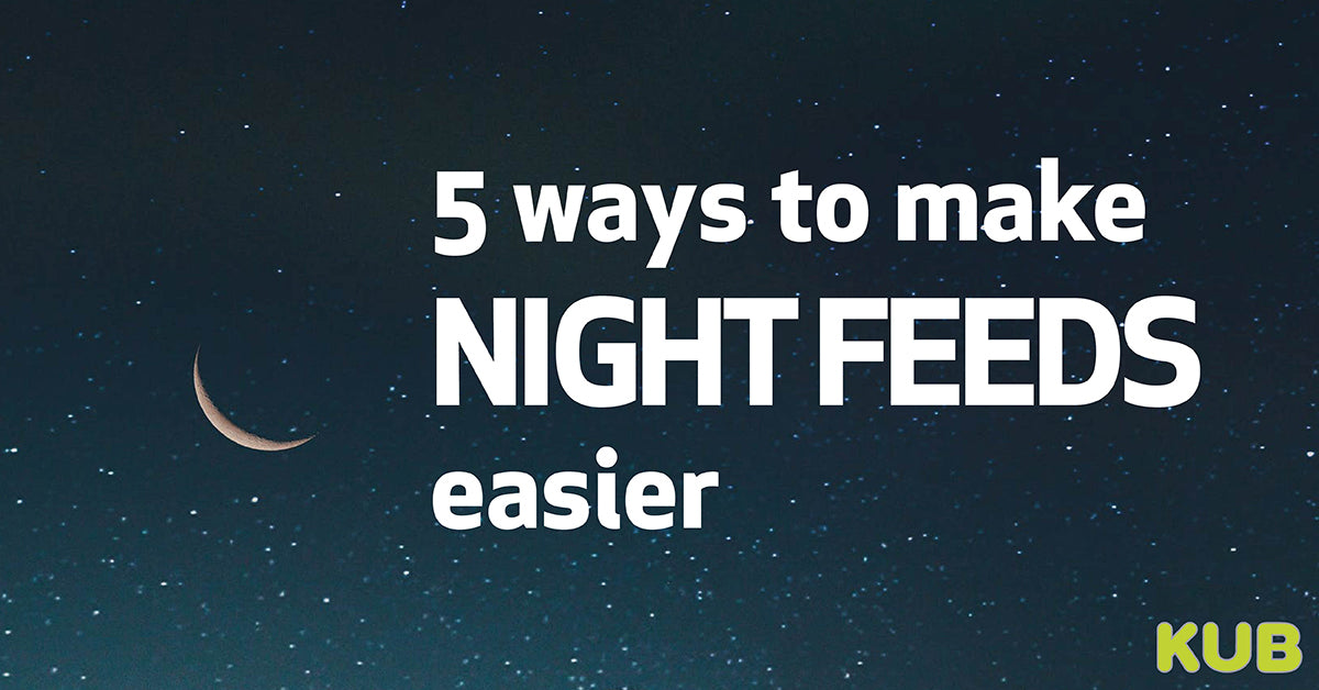 5 Top Tips for Making Night Feeds Easier