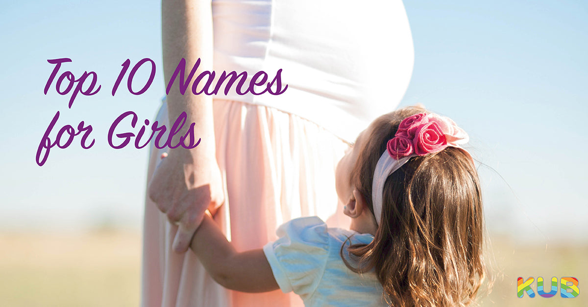 Top 10 Names for Girls