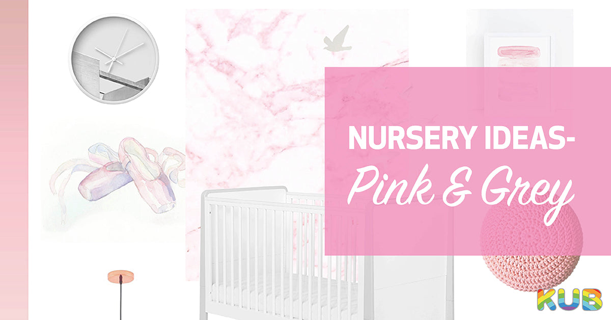 Nursery Ideas - Pink and Grey
