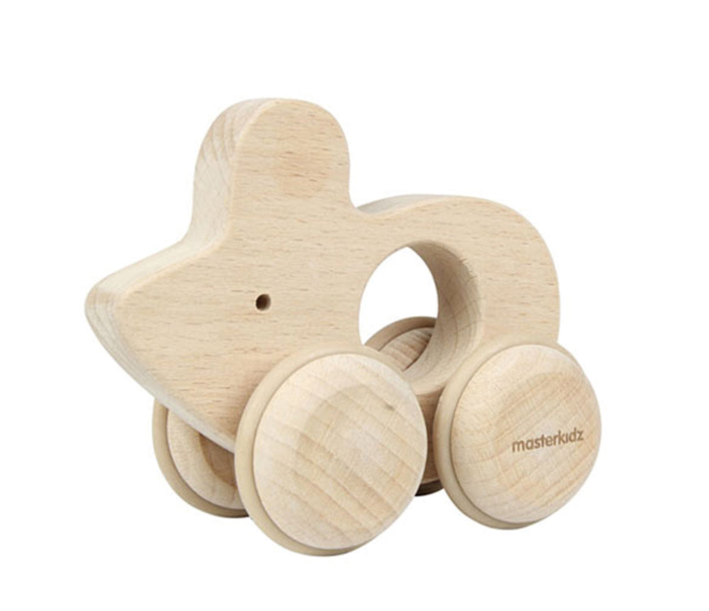Wooden Grasping Push Along Mouse