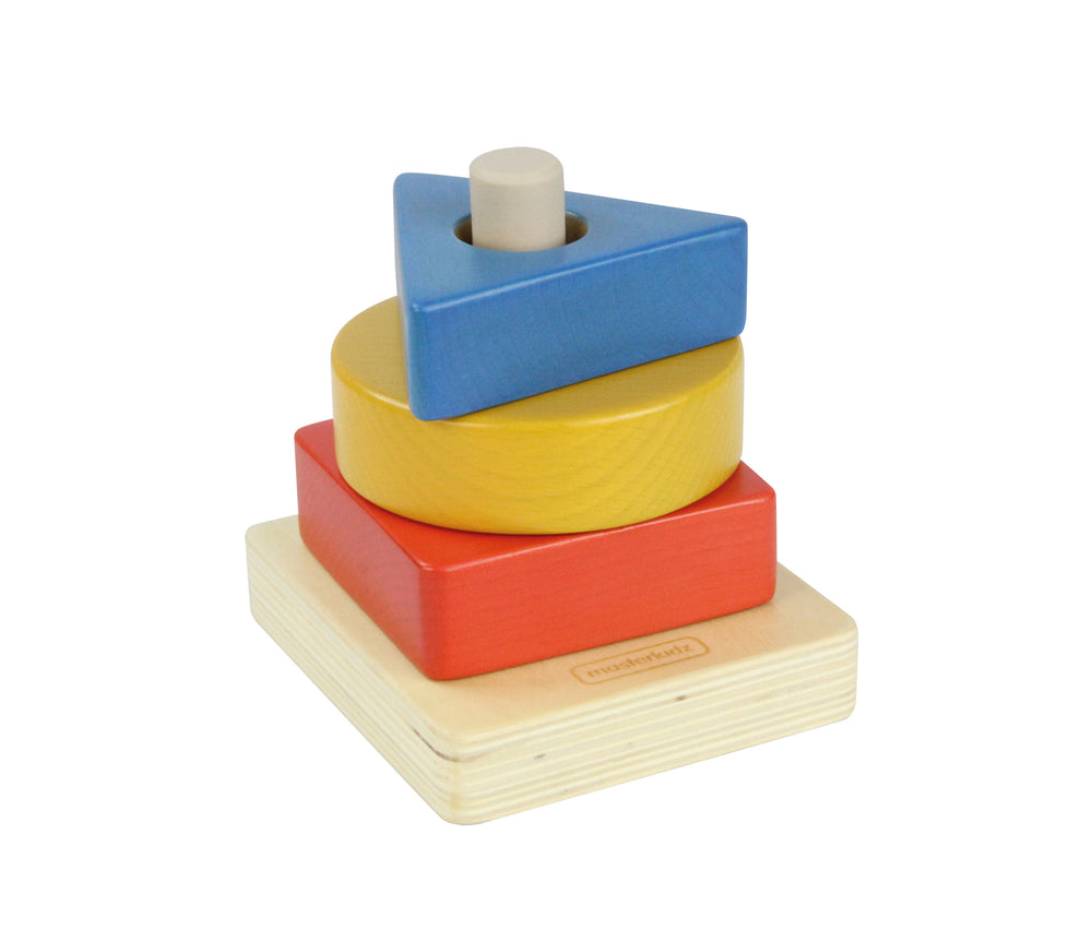 Wooden Stacking Shapes