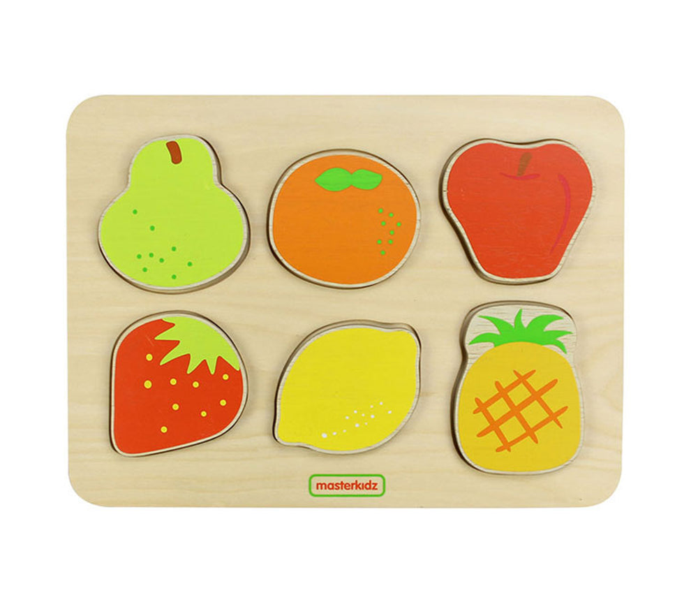 Wooden Fruit Puzzle