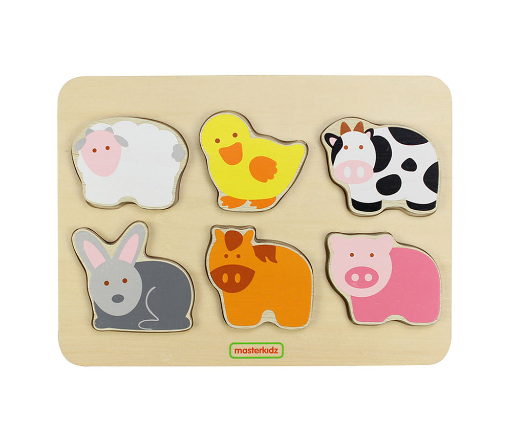 Wooden Farm Animal Puzzle