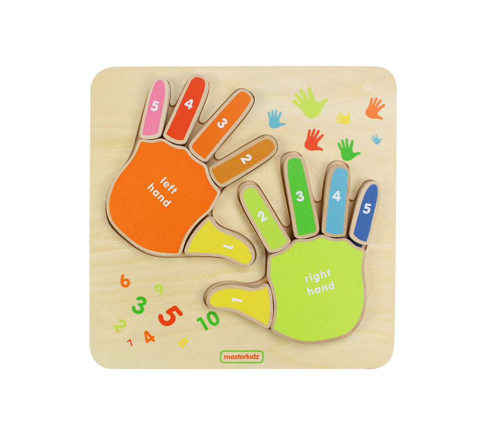 Wooden Finger Counting Board