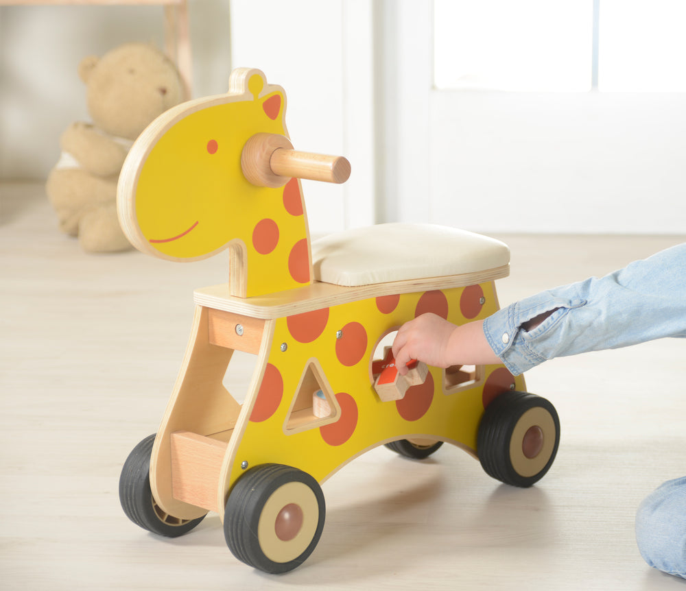 Ride-on Shape Sorter Giraffe
