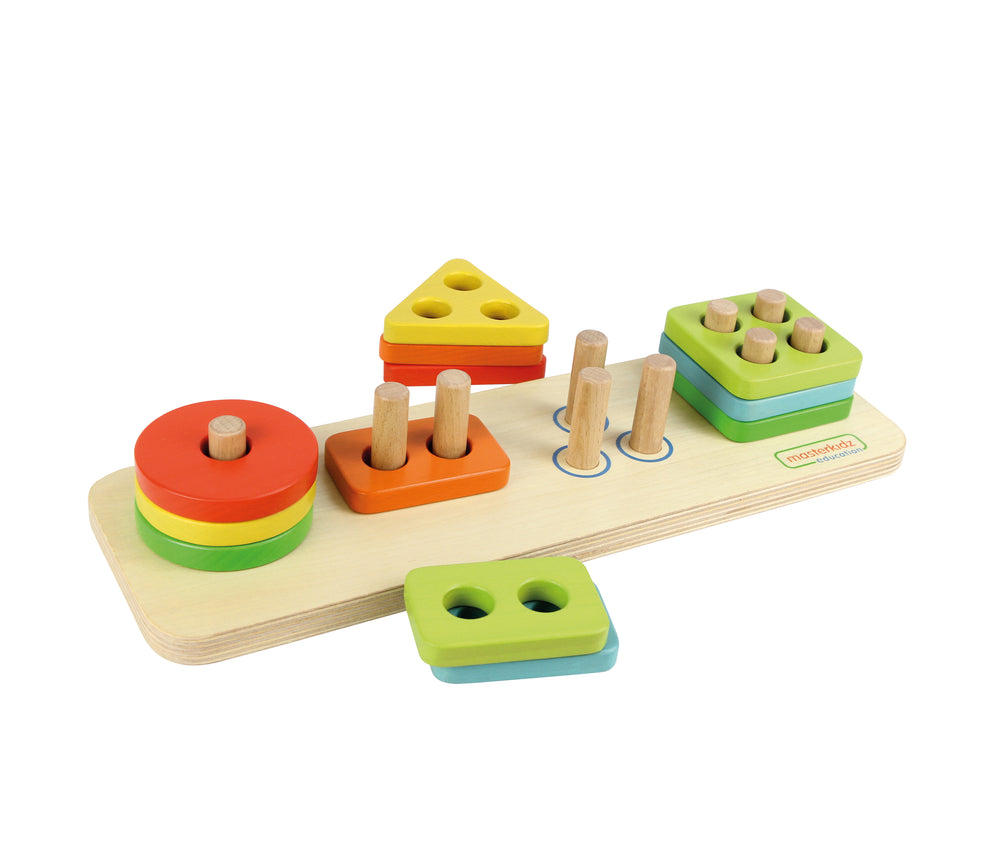 Wooden Stacking Game Board