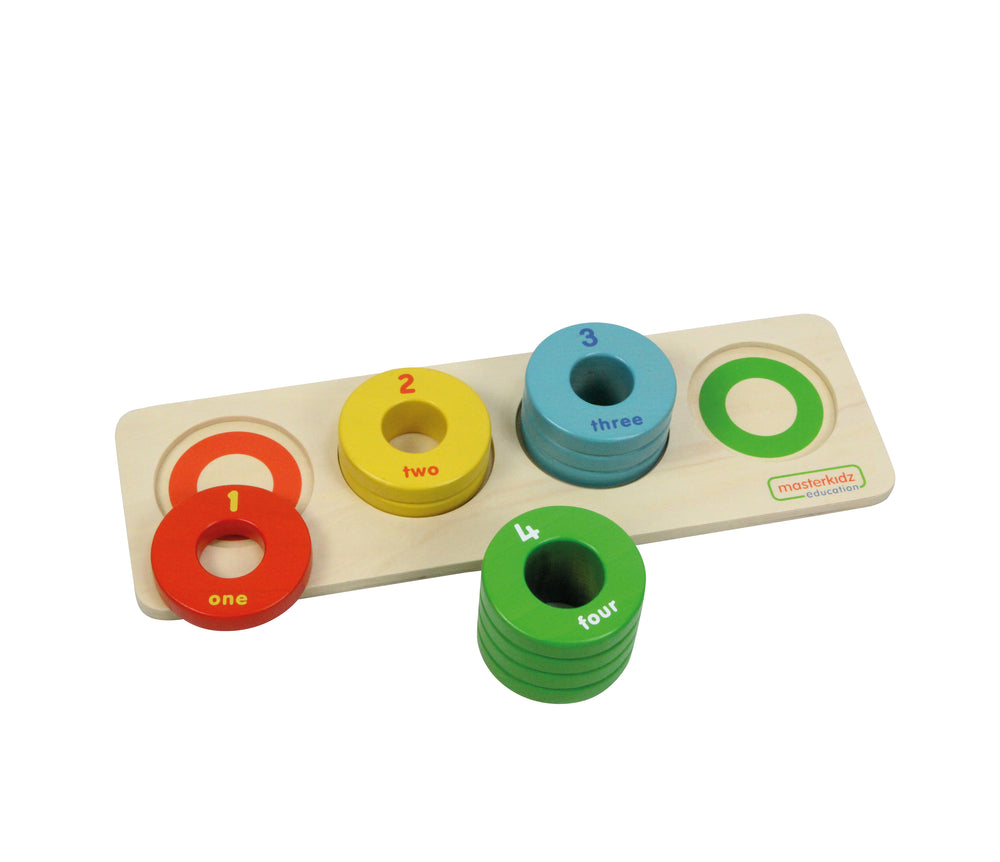 Wooden Size Teaching Game