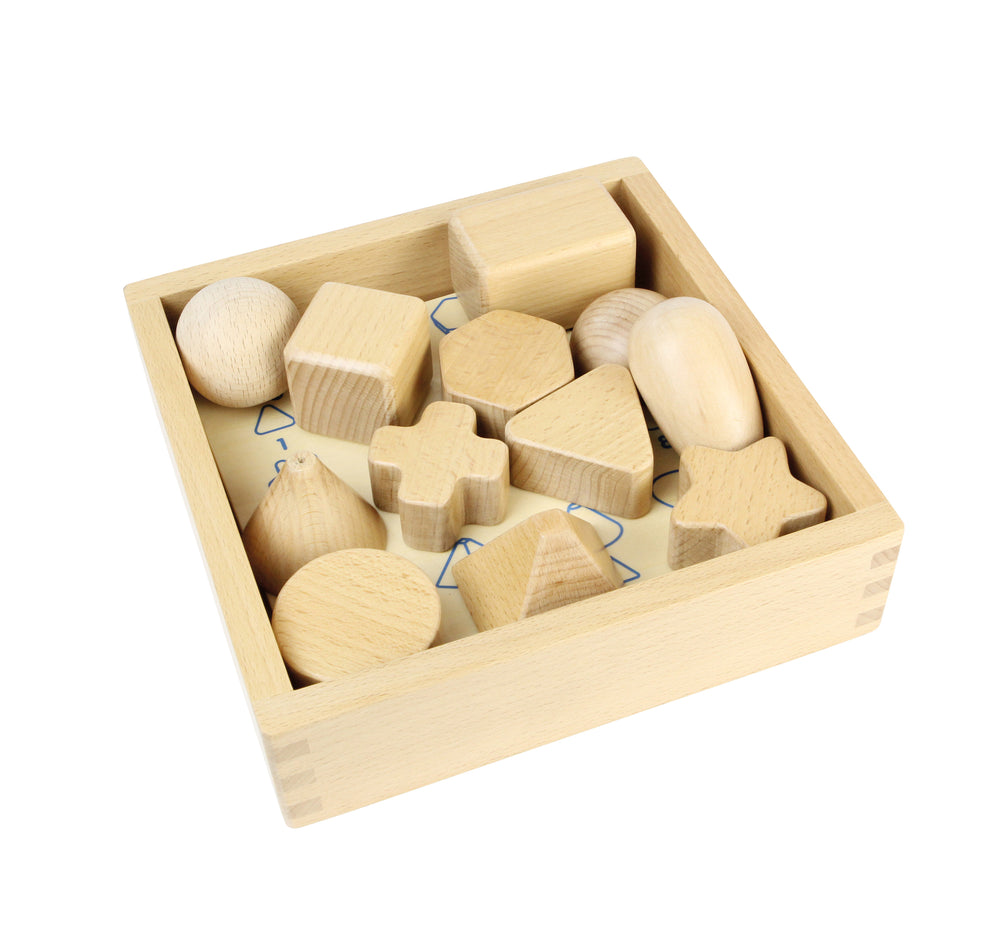 Wooden Shape Teaching Set