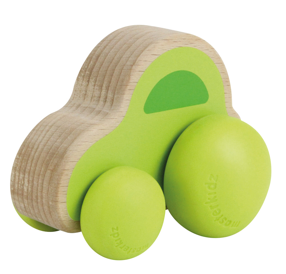 Lil' Rollerz Wooden Toy Family Car
