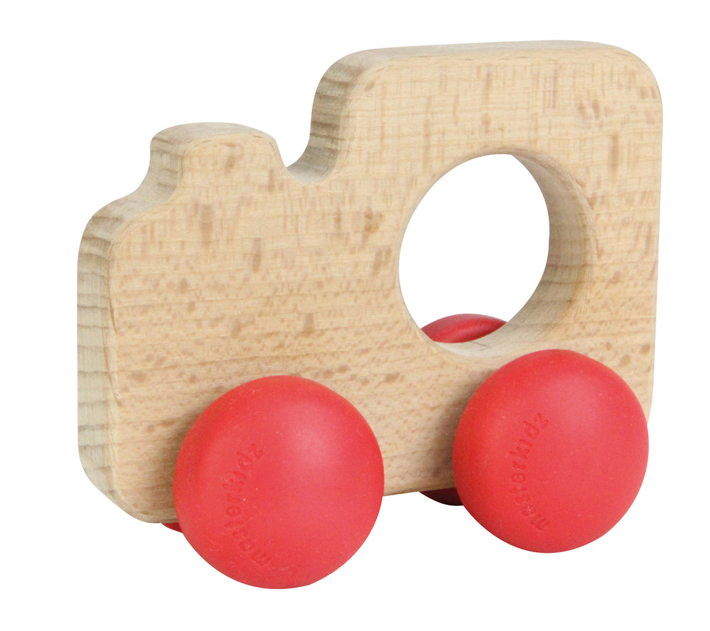Wooden Push Along Toy Train