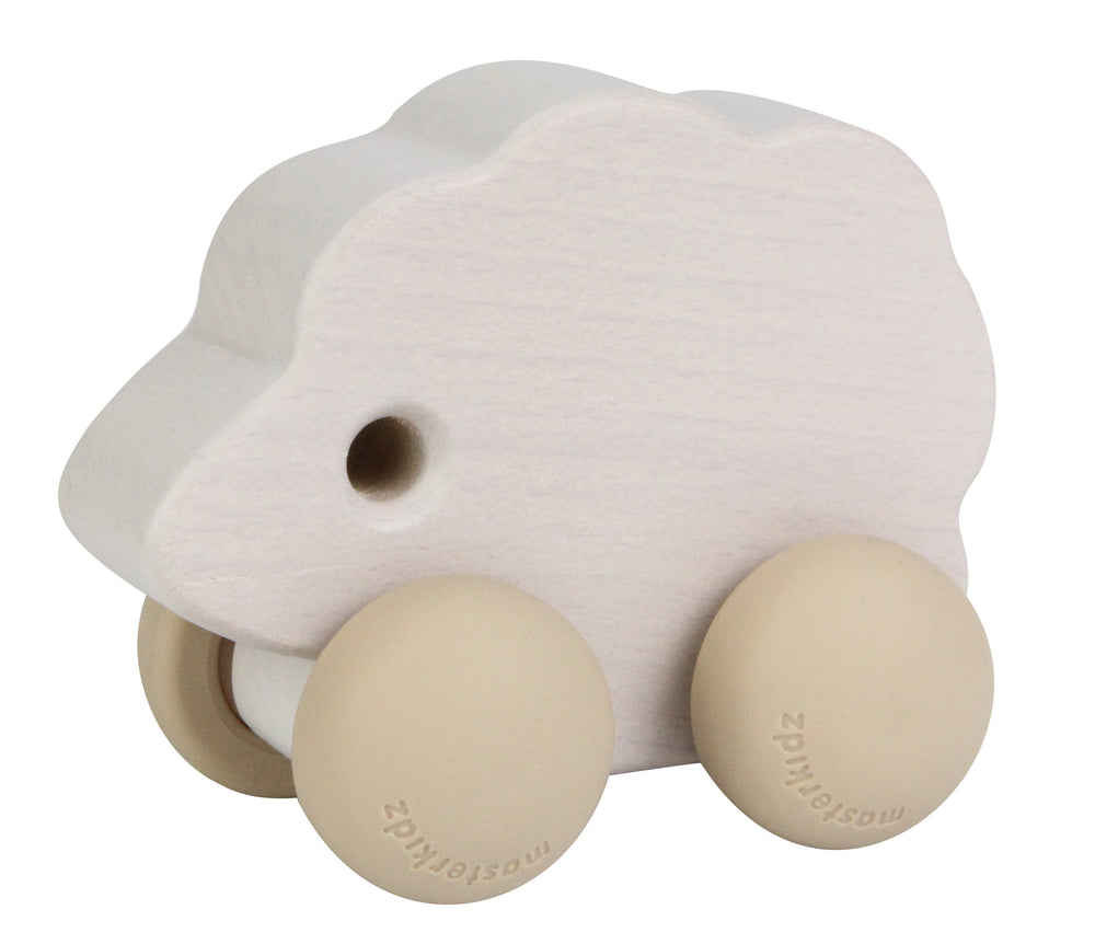 Wooden Push Along Toy Sheep