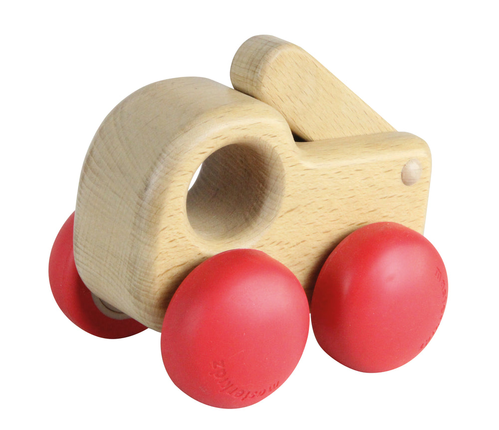 Chunky Wooden Fire Engine Toy