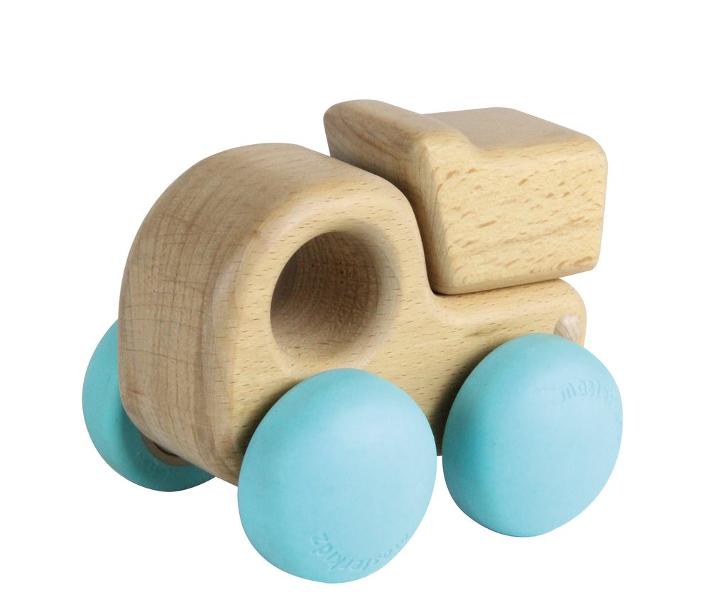 Chunky Wooden Dump Truck Toy