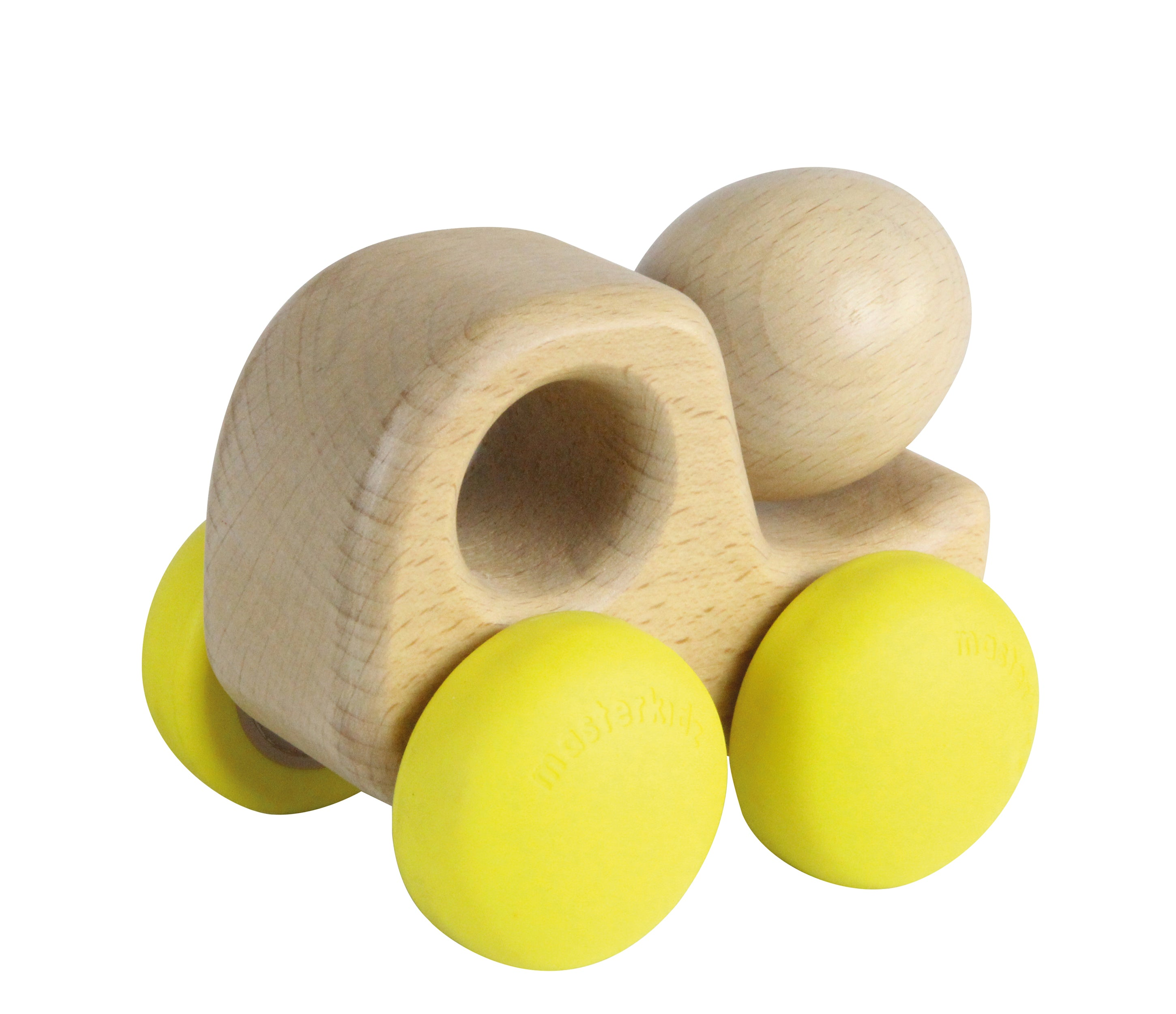 Chunky Wooden Cement Mixer Toy