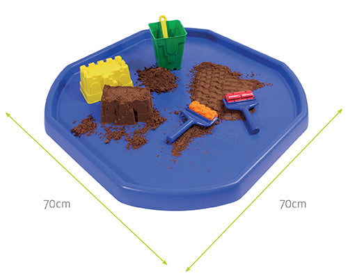 Ultimate Tuff Tray (Blue) with Stand and Sculpting Sand