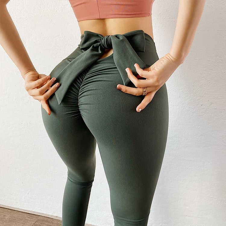 BOW-BOW Leggings - The Yogi Bum