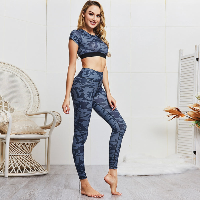 CAMO LOVE Yoga Set - The Yogi Bum