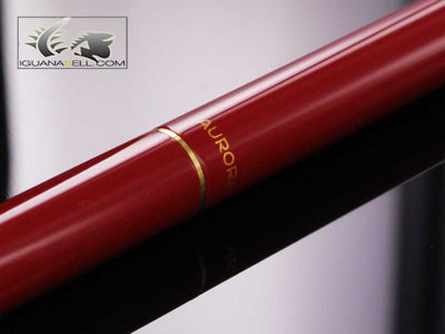 Stylo bille Aurora Hastil 1970 - Laque Rouge et Or