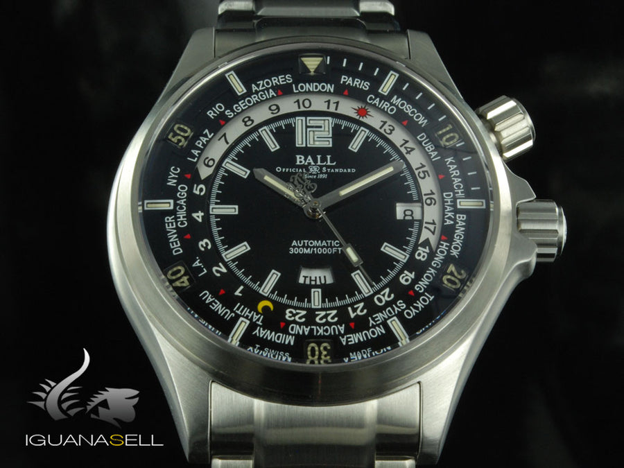 Montre Ball Engineer Master II Diver Worldtime -Automatique- DG2022