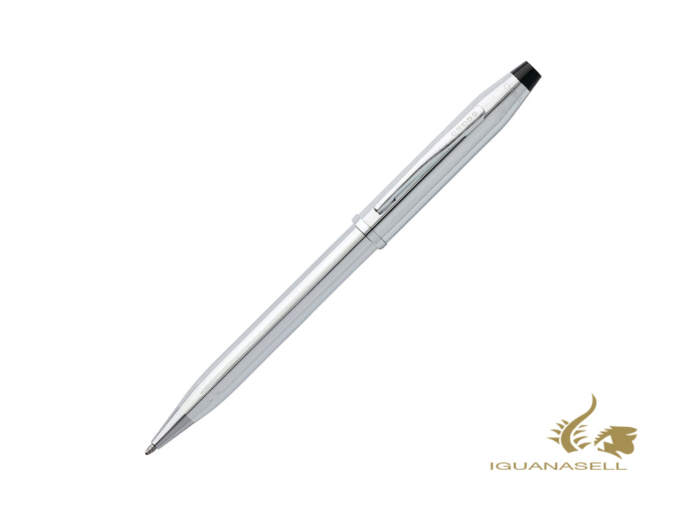 Stylo bille Cross Century II, Chrome, Argent, Poli, 3502WG