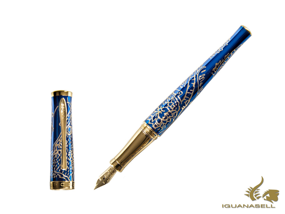 Stylo Plume Cross Sauvage Year of the Rat 2020, Bleu, AT0316-23