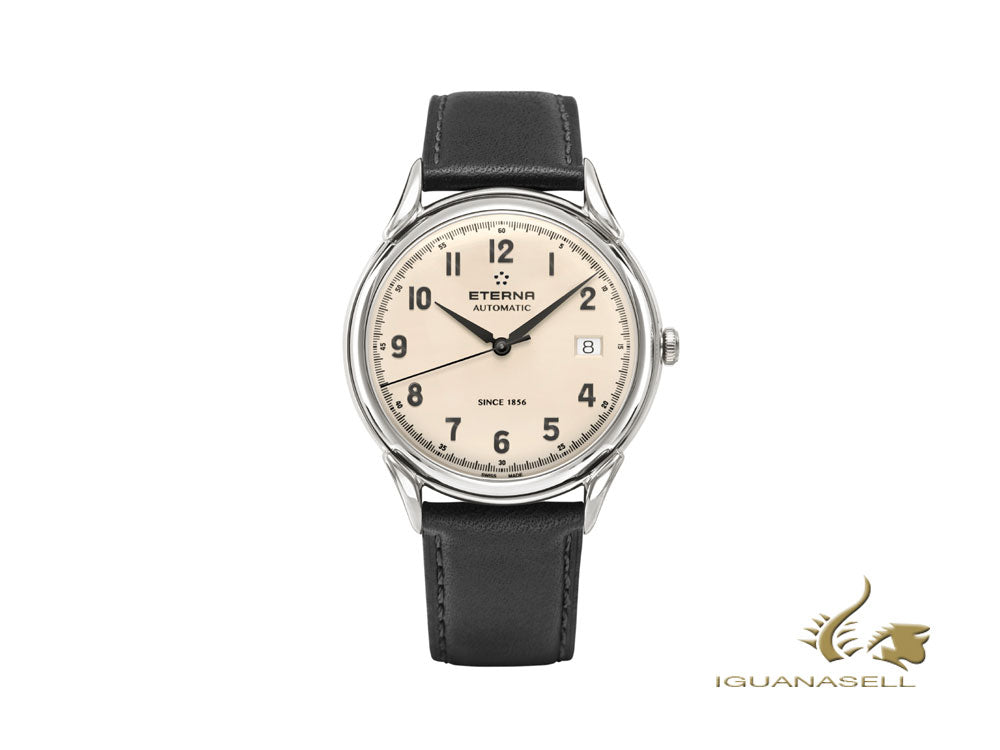 Montre Automatique Eterna Heritage 1948 Gent, SW 300-1, 40mm, 2955.41.94.1388
