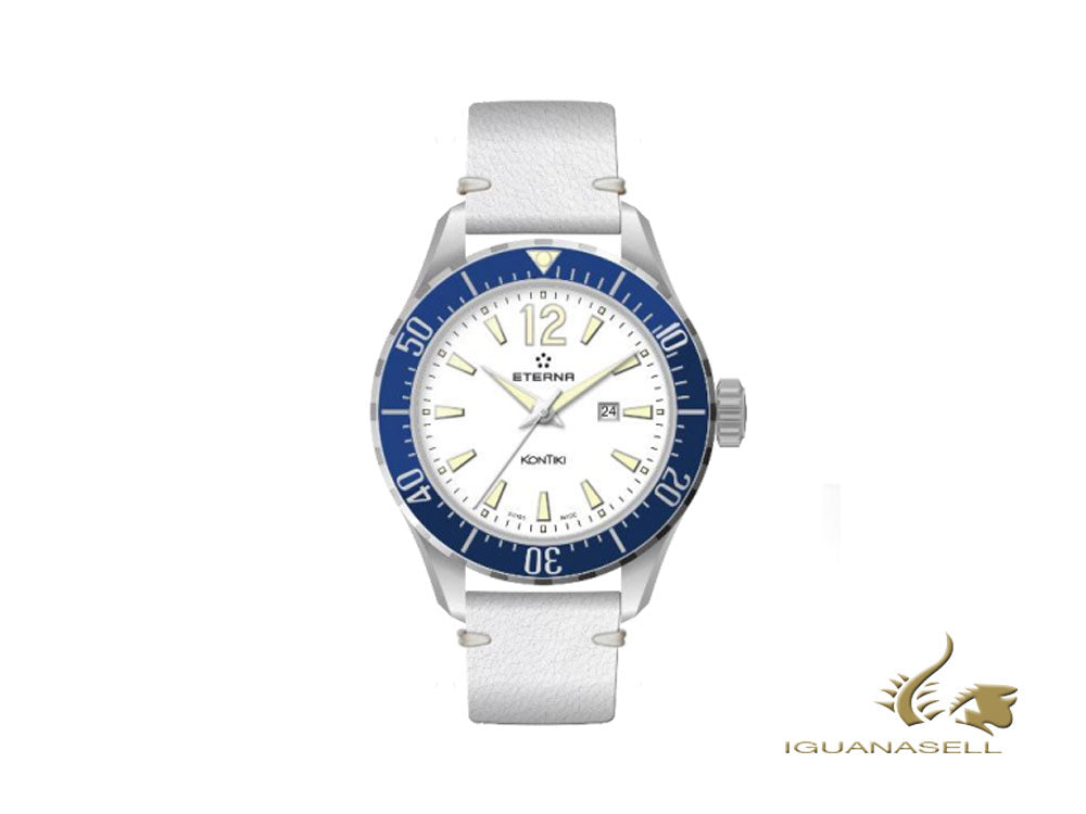 Montre à Quartz Eterna Lady Kontiki Diver, ETA 956.412, 36mm, 1282.41.66.1419