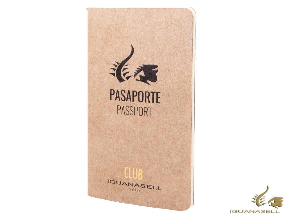 Passeport Iguana Sell, Pocket (9 x 14 cm), Blanc, Marron, 64 pages