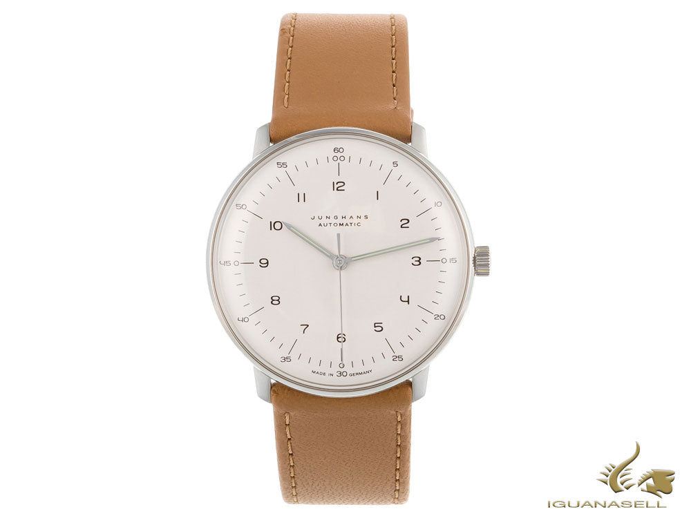 Montre Automatique Junghans Max Bill, J800.1, 38mm, Argent, 027/3502.00