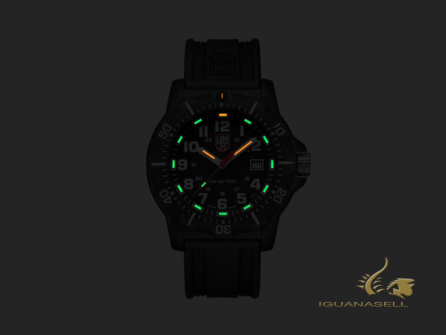Montre à Quartz Luminox Land Black OPS 8880 Series, Carbone, Noir, XL.8881
