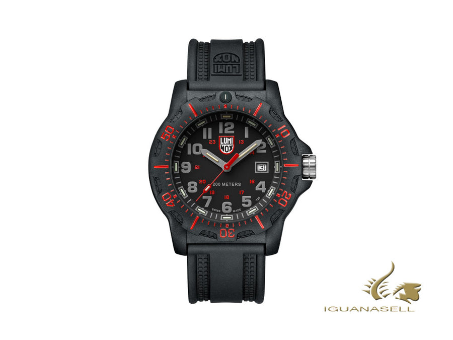 Montre à Quartz Luminox Land Black OPS 8880 Series, Carbone, Noir, XL.8895