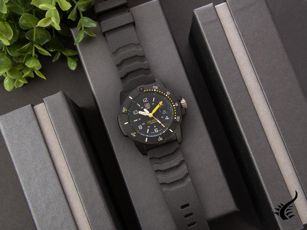 Montre à Quartz Luminox Navy Seal 3600 Series, Noir, 45 mm, 20 atm, XS.3601