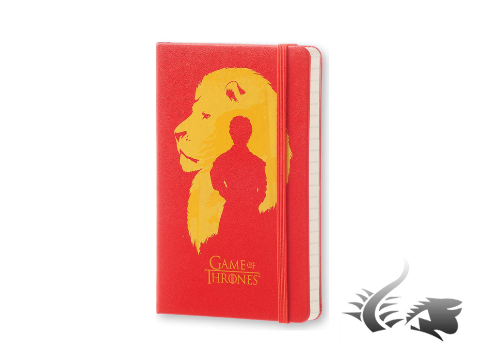 Carnet Moleskine Game of Thrones, Couverture rigide, Pocket, Edition Limitée