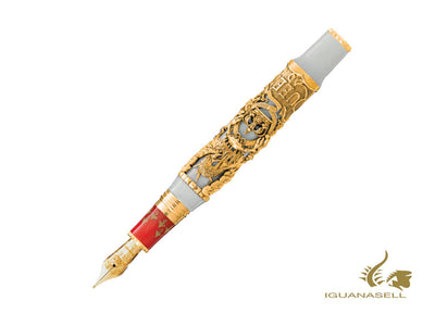 Stylo Plume Montegrappa A Night at the Opera L.E., Or 18k, ISNON-GR