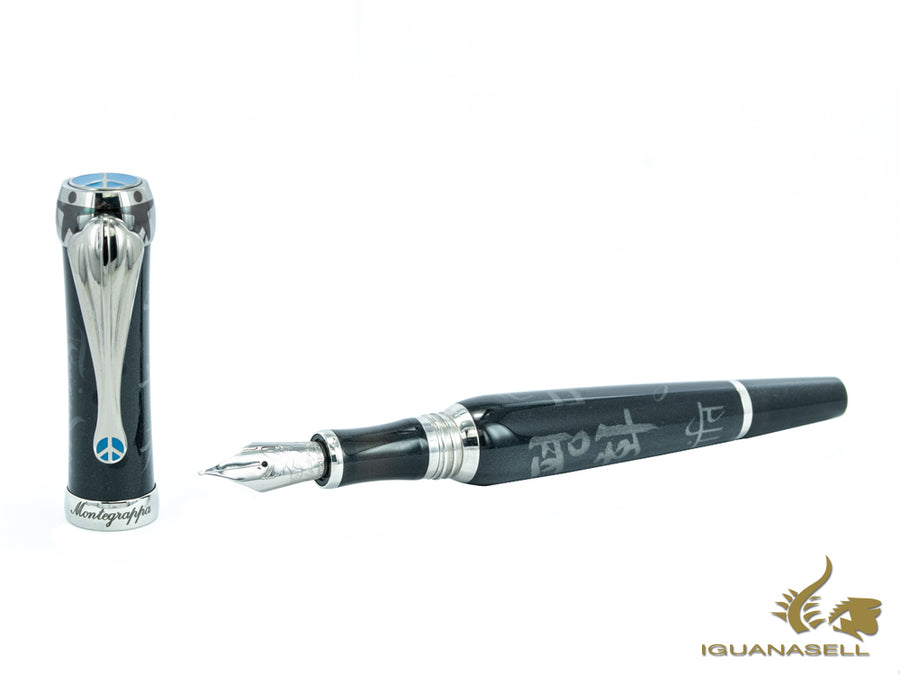 Stylo Plume Montegrappa Limited Edition Pen Of Peace, Résine, ISDPI-IC