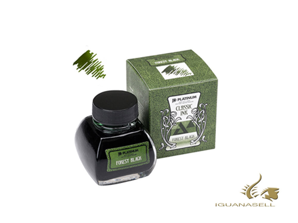 Encrier Platinum, 60ml, Forest Black, INKK-2000-44