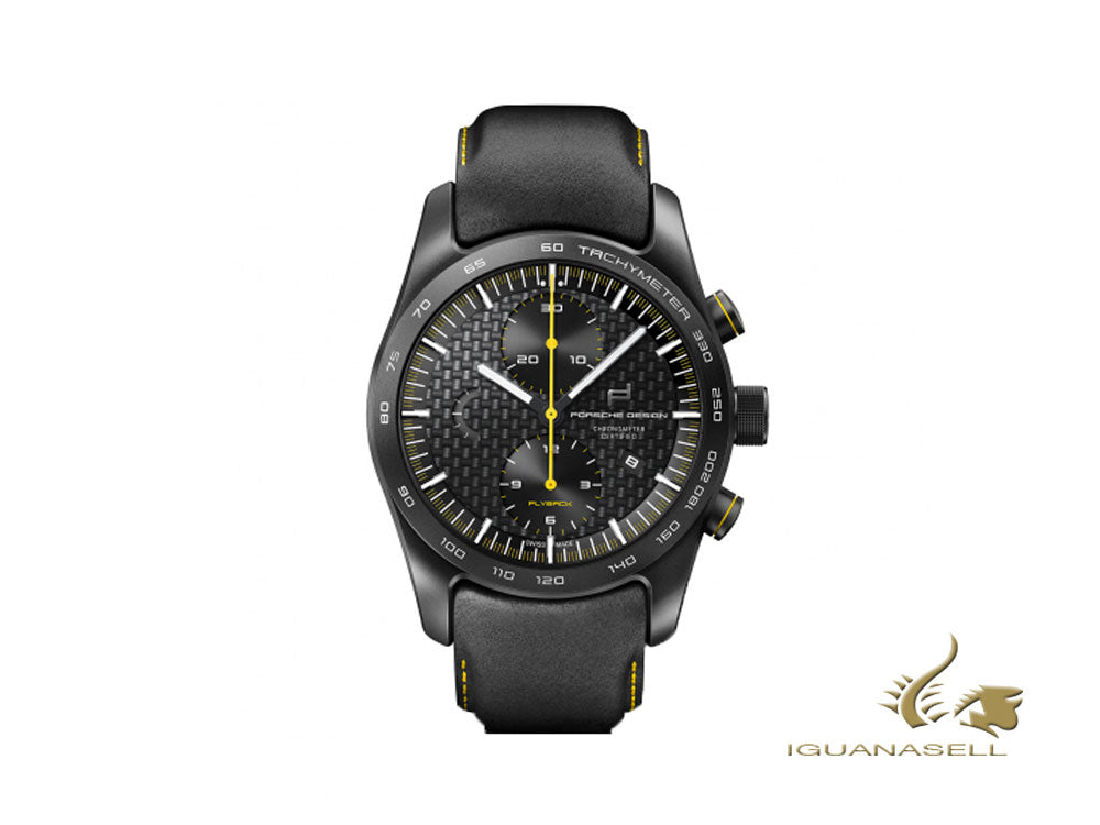 Montre Automatique Porsche Design Chronotimer Series 1 Flyback Racing Yellow