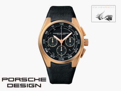 Montre Automatique Porsche Design Dashboard, ETA 7753, Chronographe, Or Rose 18K