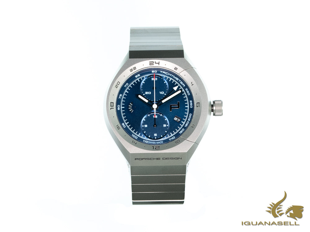 Montre Automatique Porsche Design Monobloc Actuator, GMT, 6030.6.02.003.02.5