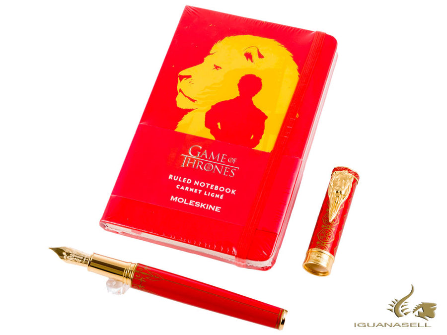 Set Stylo Plume Montegrappa Game of Thrones & Carnet Moleskine