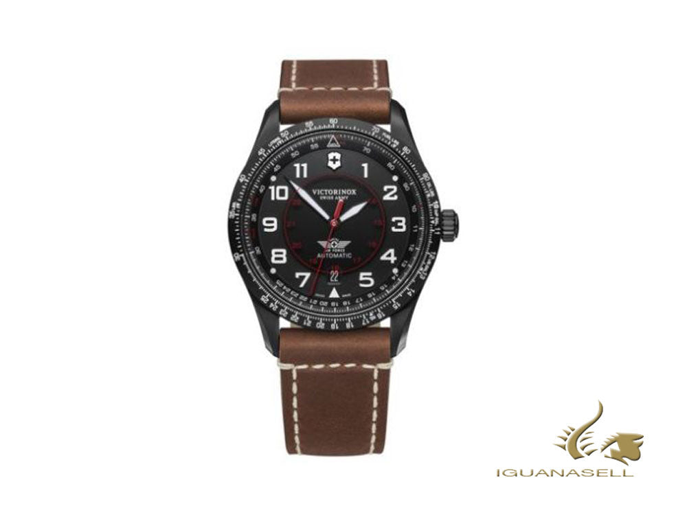 Montre Automatique Victorinox Airboss Mechanical, Noir, 42 mm, 10 atm, V241886