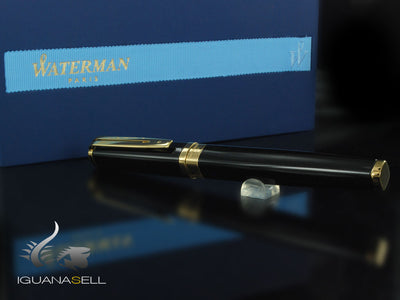 Stylo Plume Waterman Exception, Laque, Attributs Or, S0636790