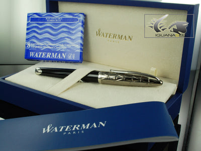 Stylo Plume Waterman Carène Contemporary Metal PVD et Lacque